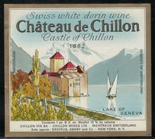Etiquette De Vin // Réserve Du Château De Chillon - Castles