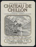 Etiquette De Vin // Cully, Château De Chillon - Castles