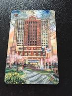 Hotelkarte Room Key Keycard Clef De Hotel Tarjeta Hotel RITZ CARLTON TYSONS CORNER WASHINGTON DC - Telefonkarten