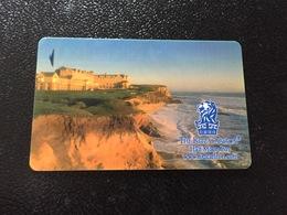 Hotelkarte Room Key Keycard Clef De Hotel Tarjeta Hotel RITZ CARLTON HALF MOON BAY - Telefonkarten