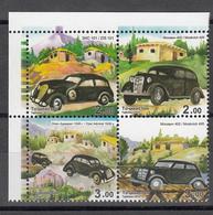 Tadschikistan 2015 MNH** Mi.Nr. 685-688 Zd A Cars Perforated - Tadschikistan