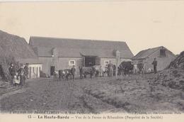 BEAUMONT LA RONCE  La Haute Barde  Vue De La Ferme De La Ribaudière - Beaumont-la-Ronce