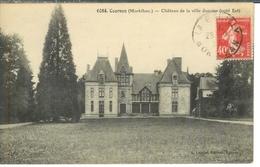 Cpa 56 Cournon , Château De La Ville Janvier , Voyagée 1927 - Sonstige Gemeinden