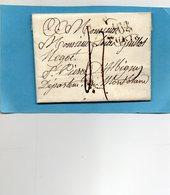 """Linéaire """"104 TURIN"""",L.A.C. Pour St PIERRE D'ALBIGNY (MONT BLANC) Le 14 Juin 1803. - 1792-1815: Conquered Departments"""