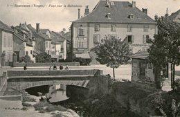 (120)  CPA   Senones  Pont Sur Le Rabodeau   (Bon état) - Senones
