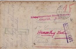 CP Photo : : Prisonniers De Guerre - Camp De Rennbahn ( Westphalie ) Vers Camp De Hammelburg ( Bavière ) - 1915 - Guerre, Militaire