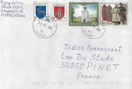 Lettonie 2011-affranchissement Philatelique - Lettonie