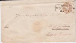 Preußen Ganzsache U 22 Ra3 Berlin N Loga B Leer Ostfriesland Ca 1861 - Prusse