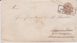 REDUZIERT Preußen Ganzsache U25 Ra3 Berlin PE 8 N Loga B Leer 1863 - Prusse