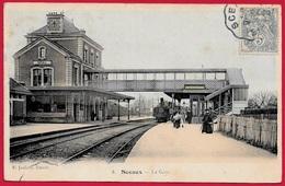 CPA 92 SCEAUX - LA GARE (intérieur Avec Train) ° E. Jaulard - Sceaux