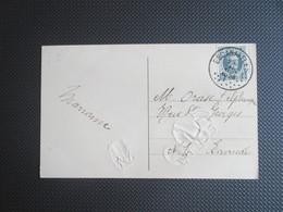 193 - Houyoux - PK ( Tulpen ) Verstuurd Uit Escanaffles - 1922-1927 Houyoux