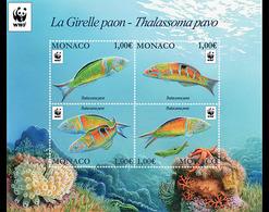 Monaco 3056/59 Poissons, WWF - Fische