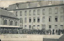 Pensionnat Saint Joseph à Looz Belgique - La Cour - De Speelplaats - Der Spielhof - Borgloon