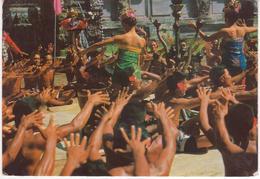 °°° 13482 - INDONESIA - KETJAK DANCE OF BALI - 1970 °°° - Indonesia