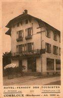 (120)  CPA  Combloux  Hotel Des Touristes  J  Puthod  (Bon état) - Combloux