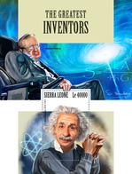 SIERRA LEONE 2017 - A. Einstein, Inventors - YT CV=20 €, BF1315 - Albert Einstein