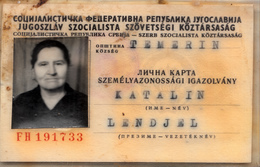 ID YUGOSLAVIA 1967 - Documenti Storici