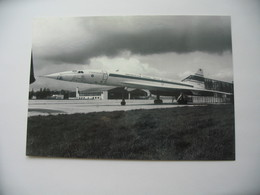Carte Postale CONCORDE - Aerospatiale - Bac CONCORDE F-WTSA   **** EN ACHAT IMMEDIAT **** - 1946-....: Ere Moderne