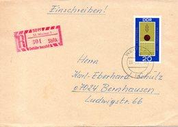 RDA. N°1189 De 1969 Sur Enveloppe Ayant Circulé. Volley. - Voleibol