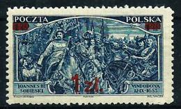 Polonia Nº 373 (sobrecarga) Nuevo* Cat.27,50€ - Unused Stamps