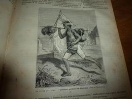 1882 JDV: Gravure ->Poste Au Japon,Japan (Courrier Portant Les Dépêches; Meurtre Du Dr Crevaux; Etc - Kranten
