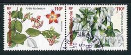 "TIMBRE Oblit. De 2006 ""2 X 110 F - Lianes Ornementales : Artia Balansae & Oxera Brevicalyx"" - Neukaledonien"