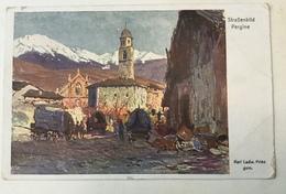PERGINE   TRENTO   RED CROSS  ROTES KREUZ  WWI. - Trento
