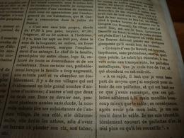 1882 JDV:Sable D'or De Rivière Daol,Daouillé,Daoé; Gravure ->Les Esclaves Sans Valeur Sont Massacrés;Mammoth-cave (USA) - Kranten