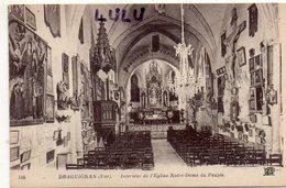 DEPT 83 : édit. N D N° 116 : Draguignan Intérieur De L église Notre Dame Du Peuple - Draguignan