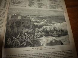 1882 JDV:Egypte (gravure:Alexandrie);Pêche Perles à Ceylan;Volcan De Boue En Crimée;Gravur (assassinat Du Roi Madama;etc - Kranten
