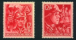 1948, SA/SS Postfrisch - Mi.-Nr. 909/910 (80,-) - Unused Stamps