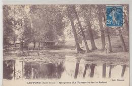 LEFFOND  Quiqueux ( La Passerelle Sur Le Salon ) - France