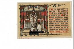 KL 9805 - OP DEN DAG VAN H HERTEMAEND T JAER O H 1865 BRUGGE - Images Religieuses