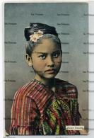 Myanmar Burma Postcard Karen Beauty DA Ahuja Rangon No.256 - Myanmar (Burma)