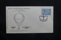 ARGENTINE - Enveloppe Par Ballon En 1964, Affranchissement Et Cachets Plaisants - L 36754 - Argentinien
