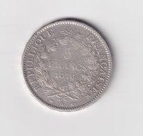 5 FRANCS HERCULE 1876 A PARIS - France