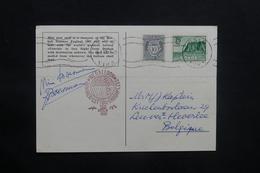 NORVÈGE - Carte Postale Par Ballon En 1963, Affranchissement  Et Cachets Plaisants - L 36756 - Brieven En Documenten