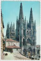 BURGOS   CATEDRAL    FACHADA  PRINCIPAL        (VIAGGIATA) - Burgos