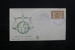 WALLIS ET FUTUNA - Enveloppe FDC En 1963 - Droits De L 'Homme - L 36761 - FDC
