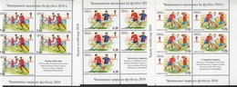 Tadschikistan 2017 MNH** Mi.Nr. 761-763 A KB Football World Cup Set Russia 2018 - Tadschikistan