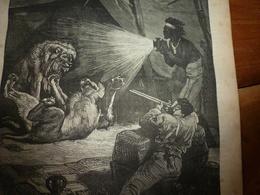 1882 JDV: Aventure Africaine Du Major Serpa Pinto; Musulman En Prière (gravure);Le Département De La SEINE; Etc - Kranten