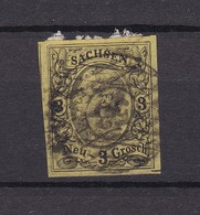 Sachsen - 1855/63 - Michel Nr.  11 - Gest. - 20 Euro - Sachsen