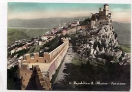 Repubblica S. Marino, Panorama, 1957 Used Postcard [23330] - San Marino