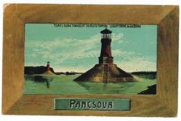SER 8 - 5611 PANCEVO, Serbia, Lighthouse - Old Postcard - Used - 1915 - Serbia