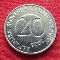 Slovenia 20 Tolarjev 2006 KM# 51  Eslovenia Slovenija Slovenie - Slovenia