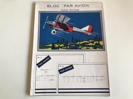 Bloc «Par Avion» Papier Machine - Printing & Stationeries