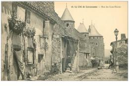 11.LA CITE DE CARCASSONNE.N°30304.RUE DES LICES HAUTES - Carcassonne