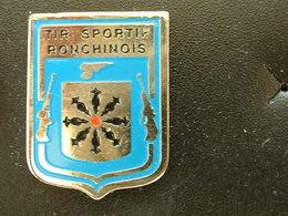 Pin's TIR - TIR SPORTIF RONCHINOIS - RONCHIN - Pin's
