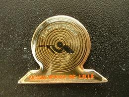 Pin's TIR - TIR SUR CIBLE - MUNICIPAUX DE LILLE - Pin's