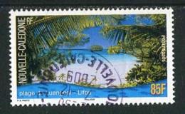 """TIMBRE Oblit. De 2005 """"85 F - Plage De Luengoni à Lifou"""" - Usados"""